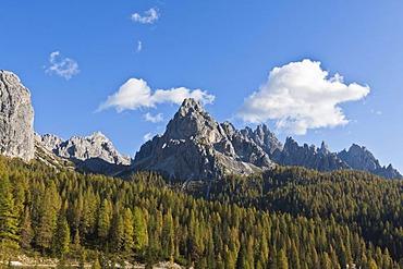 Tre Cime di Lavaredo, Three Peaks, Dolomites, Italy, Europe