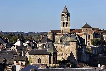 Saint Pierre church, Uzerche, valley of Vezere, Correze, France, Europe