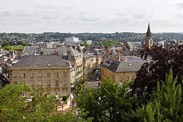 Townscape, Brive la Gaillarde, Correze, Limousin, France, Europe