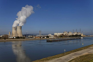 St Paul Trois Chateaux, Tricastin industrial and nuclear site, Bollene industrial site, Drome, France, Europe