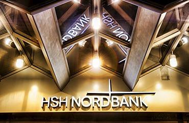 Branch of HSH Nordbank at Gerhart-Hauptmann-Platz, Hamburg, Germany, Europe