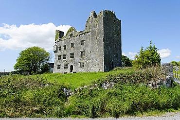 Leamaneh Castle, Burren, County Clare, Ireland, Europe