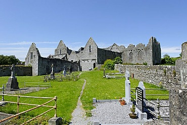 Ruins of the former Franciscan monastery, Askeaton, County Limerick, Ireland, Europe