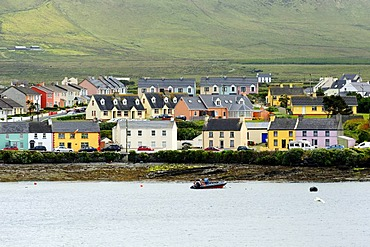 Portmagee from Valentia Island, County Kerry, Ireland, Europe