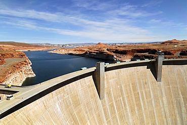Glen Canyon Dam, Lake Powell Dam, Arizona, USA, North America