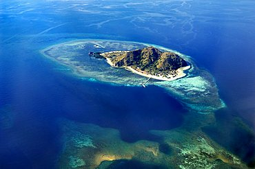 Island, flight from Denpasar, Bali, to Flores, Indonesia, Southeast Asia