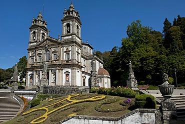 Bom Jesus do Monte Sanctuary, Braga, Minho, Portugal, Europe