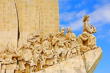 Padrao dos Descobrimentos, Monument to the Discoveries, Belem, Lisbon, Portugal, Europe