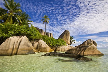 Pointe Source D'Argent, La Digue, Seychelles, Africa, Indian Ocean