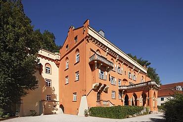 Lower Castle, Schloss Stein Castle, Stein an der Traun, Chiemgau, Upper Bavaria, Bavaria, Germany, Europe