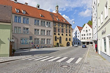 Old town of Landsberg am Lech, Bavaria, Germany, Europe, PublicGround