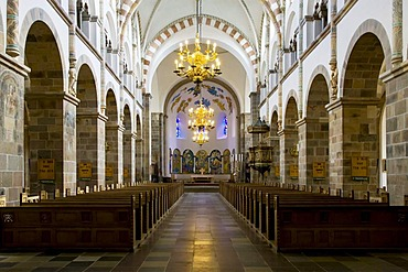 Ribe Domkirke, Ribe Cathedral, interior, Ribe, Jutland, Denmark, Europe