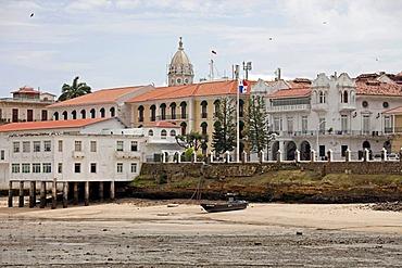 Palacio de las Garza, Presidential Palace, Old City, Casco Viejo, Panama City, Panama, Central America