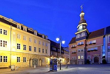 City Palace, Town Hall, Eisenach, Thuringia, Germany, Europe, PublicGround