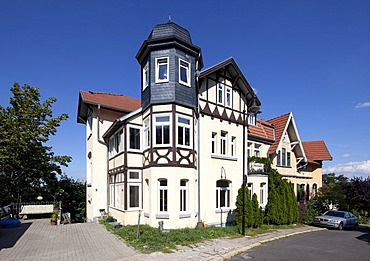 Residential building, Eisenach, Thuringia, Germany, Europe, PublicGround