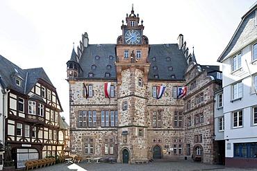 City Hall, Marburg, Hesse, Germany, Europe, PublicGround