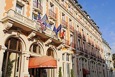 Hotel, facades, historic district, Belfort, Franche-Comte, France, Europe, PublicGround