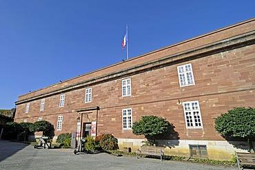 Historical Museum, citadel, fortress, Belfort, Franche-Comte, France, Europe