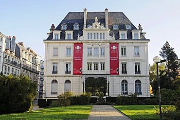 Grand Hotel des Bains, Besancon, department of Doubs, Franche-Comte, France, Europe, PublicGround
