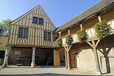Hotel des Ducs de Bourgogne, wine museum, Beaune, Department Cote-d'Or, Burgundy, France, Europe