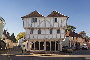 The historic guildhall in Thaxted, Essex, England, United Kingdom, Europe