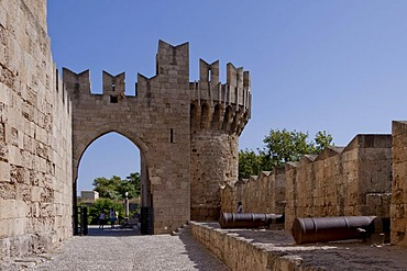 Palace of the Grand Master of the Knights of Rhodes, historic town centre of the city of Rhodes, Rhodes, Greece, Europe