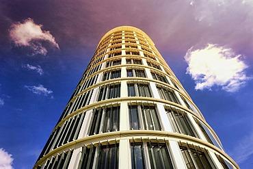 International Coffee Plaza office tower in HafenCity, Hamburg, Germany, Europe