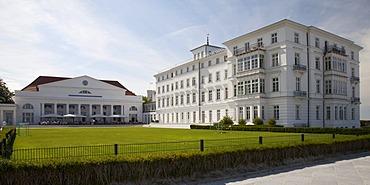 Spa hotel and Grand Hotel, Heiligendamm, Bad Doberan, Mecklenburg-Western Pomerania, Germany, Europe, PublicGround