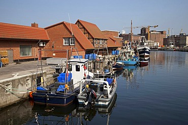 Old port, Wismar, Baltic Sea, Mecklenburg-Western Pomerania, Germany, Europe, PublicGround