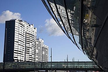Columbus Center and Klimahaus building, Havenwelten, Bremerhaven, Lower Saxony, Germany, Europe, PublicGround