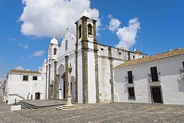 Santa Maria da Lagoa Church or Nossa Senhora de Lagoa, Monsaraz, Alentejo, Portugal, Europe