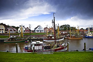 Harbour, Greetsiel, East Frisia, Lower Saxony, Germany, Europe