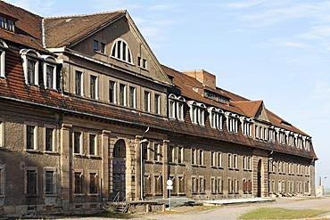 Former Defensionskaserne barracks, Festung Petersberg fortress, Erfurt, Thuringia, Germany, Europe