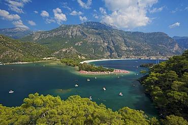 Oeluedeniz near Fethiye, Turkish Aegean Coast, Turkey