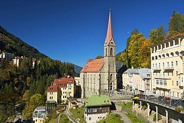 Bad Gastein, Gastein Valley, Pongau region, Salzburger Land, Austria, Europe