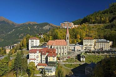 Bad Gastein, Gasteiner Tal valley, St. Johann im Pongau district, Salzburger Land, Austria, Europe
