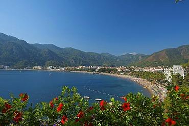 Bay of Icmeler near Marmaris, Turkish Aegean Coast, Turkey