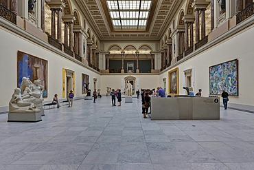 Royal Museums of Fine Arts of Belgium, Musees royaux des Beaux-Arts de Belgique, Rue du Musee, Brussels, Belgium, Europe