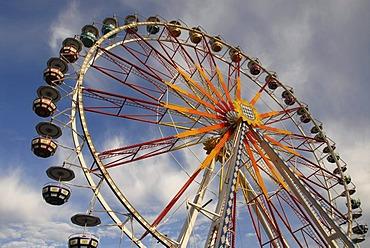 Ferris wheel at a funfair, Germany, Europe