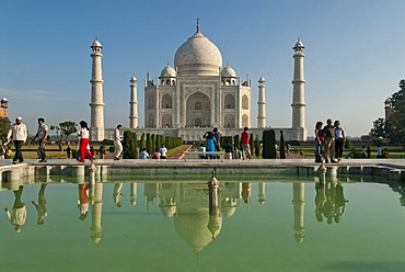 Taj Mahal, Agra, Uttar Pradesh, Northern India, India, Asia