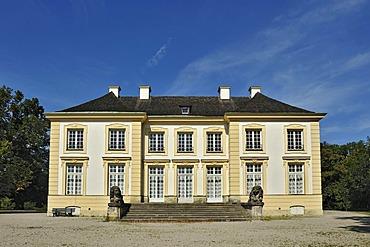 Badenburg castle, Nymphenburg Park, Munich, Bavaria, Germany, Europe