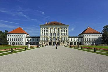 Nymphenburg Palace, Nymphenburg Park in Munich, Bavaria, Germany, Europe