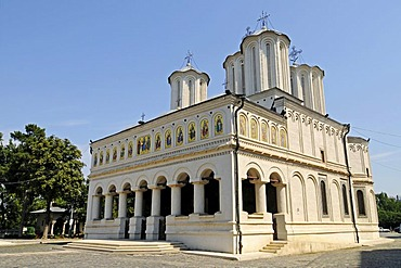 Palace and Church of the Patriarch, Romanian Orthodox Church, Bucharest, Romania, Eastern Europe, PublicGround