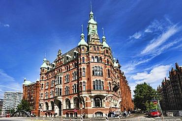 Speicherstadt Town Hall, Bei St. Annen 1, in the Speicherstadt, the historic warehouse district of Hamburg, Germany, Europe