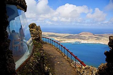 Mirador del Rio by Cesar Manrique in Lanzarote, Canary Islands, Spain, Europe