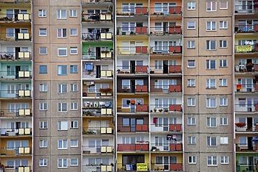 Apartment building, seaside resort of Swinoujscie, Usedom Island, West Pomerania, Poland, Europe, PublicGround