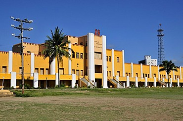 Moncada Barracks, now school centre and historical museum; the fight of revolutionaries around Fidel Castro against the Batista regime commenced here on 26 July 1953, Santiago de Cuba, Cuba, Caribbean