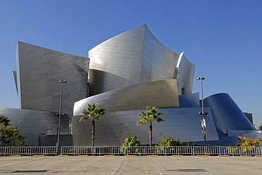 Walt Disney Concert Hall, partial view, Los Angeles, California, USA
