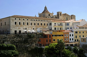 Church of Iglesia del Carmen, Mao, Mahon, Menorca, Balearic Islands, Spain, Europe