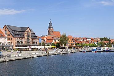 Port, Waren, Mecklenburg Lake District, Mecklenburg-West Pomerania, Germany, Europe